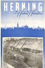 DANEMARK DENMARK HERNING BROCHURE TOURISME 1949 ?