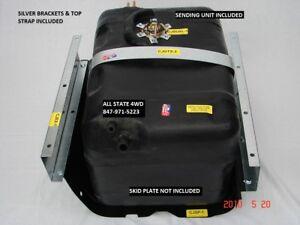 1978-1986 Jeep CJ5 CJ7 Polyethylene 21 Gallon Gas Tank & Sender LARGER CAPACITY