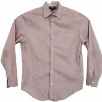 Banana Republic Non Iron Classic Fit Shirt Mens M Long Sleeve Button Front