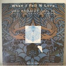 "UBQ Project (Vol II)* ‎– When I Fell N Luv (Vinyl, 12"", MAXI 33 Tours)"