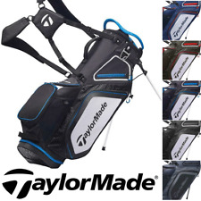 TAYLORMADE PRO SERIES 8.0 DUAL STRAP GOLF STAND CARRY BAG / NEW 2020 MODEL