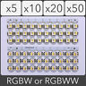 SK6812 PCB 5050 SMD Addressable Digital RGBW RGBWW LED 4 pin Chip 5V