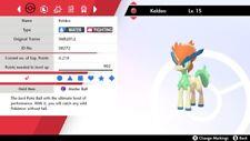 Ultra Shiny*** 6IV SMR2012 Toxic Timid Justified Keldeo Pokemon Sword/Shield