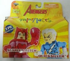 Marvel Minimates Scarlet Witch Quicksilver Series 16 Avengers open box new