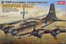Academy 1/72 Boeing B-17F Flying Fortress USAAF Bomber WWII Kit #2188 Mint