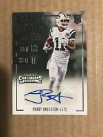 2016 ROBBY ANDERSON PANINI CONTENDERS ROOKIE TICKET AUTOGRAPH #259 New York JETS