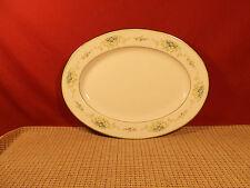 """Noritake China Culeton 2692 Small  Oval Platter 11 1/2"""""""