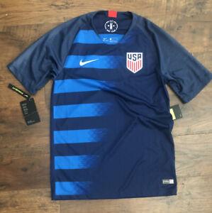 Nike 2018 USA Vaporknit Match Away Men's Soccer Jersey  Small