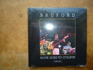 BRUFORD: Rock Goes To College 1979: 8 Tracks CD UK SEALED