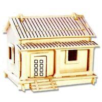 ds Puzzle 3D Legno Wafuutaku Modellino Modellismo Collezione Gioco Bambini dfh