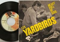 THE LES YARDBIRDS HEART FULL OF SOUL EP FRENCH 45+PS 1965 MOD FREAKBEAT PSYCH