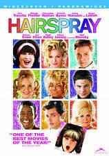 'HAIRSPRAY' JOHN TRAVOLTA CHRISTOPHER WALLKEN MICHELLE PFEIFFER DVD NEW