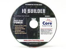 Psychometrische Tests: IQ Builder-Windows 8/7/Vista/XP/95/98 PC Spiel