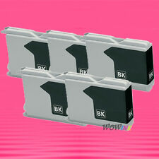 5P LC51BK BLACK INK CARTRIDGE FOR BROTHER DCP 130C 340C