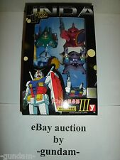 """SD Gundam 5 Figure Set """"Encounters in Space Edition"""" from Yutaka Made in Japan"""