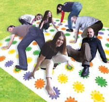 Get Knotted Géant 3 m TWISTER Jeu GARDEN PARTY NEUF box