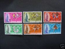 SERIE   6  SPORTS    JEUX   OLYMPIQUES    TOGO  1968
