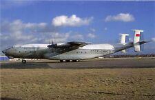 AEROFLOT AIRLINES~ANTONOV 22~CCCP-08830~COLOGNE/BONN 1991 POSTCARD