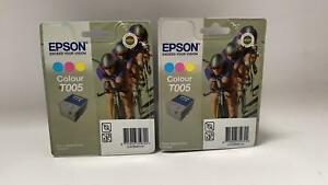 Epson T005 Colour Doppelpack Originale Druckerpatronen - A252
