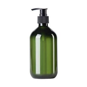 2Pcs 500ml Empty Foaming Bottles Plastic Lotion Shampoo Soap Dispenser Bathroom