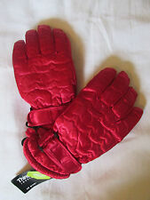 New Girls Thinsulate 40 Gramm Wasserfest Winter Schnee Handschuhe Roter Stern XS