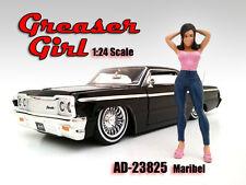 "Figurine "" Maribel "" Greaser Girl, American Diorama Figure 1:24, AD-23825"