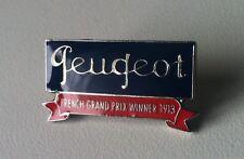 Peugeot FRENCH GRAND PRIX WINNER 1913 Pin 30x15mm [9061]