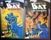 BATMAN SHADOW OF THE BAT #11 #12 VF THE HUMAN FLEA 2 Part Story MORTIMER KADAVER