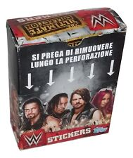 Wwe 2017 Ultimate Collection Box 36 Packs Stickers Topps