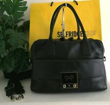 Anya Hindmarch Black Leather Carker Shoulder Bag Handbag RRP £795