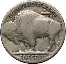 1926D BUFFALO NICKEL 5 Cents of United States of America USA Antique Coin i43682