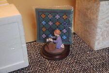 Amish Heritage Dezendorf Figurine Quilt Willitts 30014 Signed 9/93 Caroline 1St