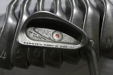 Used RH Ping Eye 2 Red Dot 3-PW Iron Set Ping ZZ Lite Stiff Flex Steel