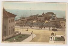 Sussex (East) postcard - Hastings, Bandstand - P/U 1935 (A652)