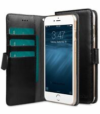 Melkco Leather Case for Apple iPhone 6s Plus /6 Plus Clear Wallet BLACK PU H1664