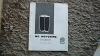 OLD AUSTRALIAN MG CAR CLUB OF SA MOTORING JOURNAL MAGAZINE, APRIL 1965