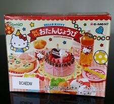 Sealed Sanrio Re-Ment Hello Kitty Happy Birthday Series #1 thru #6 Complete Set
