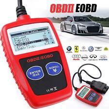 Lector De Código De Fallas De Coche Reino Unido Motor Herramienta de restablecimiento de Diagnóstico Escáner OBD 2 Can Bus EOBD