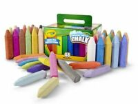 New Crayola Washable Sidewalk Chalk 48 Different Colors Bright Bold Fun Drawing