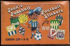 Panini WM 78 Jean's Fussball Sticker 1 Box = 100 Tüten Jeans WC 1978
