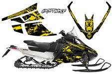 Arctic Cat F Series Sled Wrap Snowmobile Graphics Kit Sticker Decals NIGHTWOLF Y