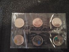 6 pc Canada 2011 Sealed Legendary Parks Nature quarter coin set from pack sheet