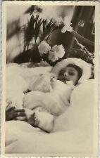 PHOTO ANCIENNE - VINTAGE SNAPSHOT - POST MORTEM ENFANT MORT - CHILD DEAD DEATH 1