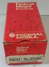 6831M .25 MM FEDERAL MOGUL Main Bearings 1982-94 1.8L 2.0L Buick Olds Pontiac