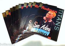 DENNIS RODMAN 1995 Signature Rookies LOT of ( 10 ) Promo RARE Sample Card #T2