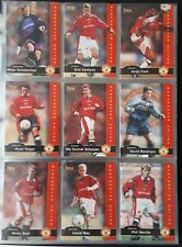 Futera Manchester United 1997 Complete 100 Card Set Football Beckham Cantona ++