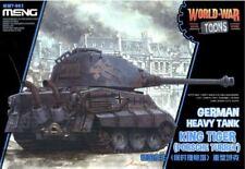 Meng-King Tiger (Porsche Torreta) Alemán tanque pesado Guerra Mundial Toon # WWT-003