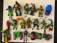 Teenage Mutant Ninja Turtles TMNT Lot Figures Vehicles Accessories Mixed