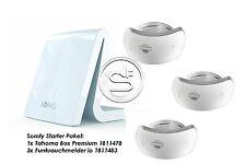 Somfy Startpaket 1x Tahoma Box Premium + 3x Rauchwarnmelder io