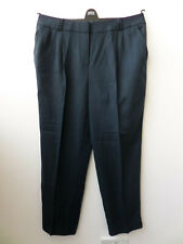 NAVY TROUSERS FROM M&S WOMEN (SOFT TAILORING) SIZE UK 16 MEDIUM